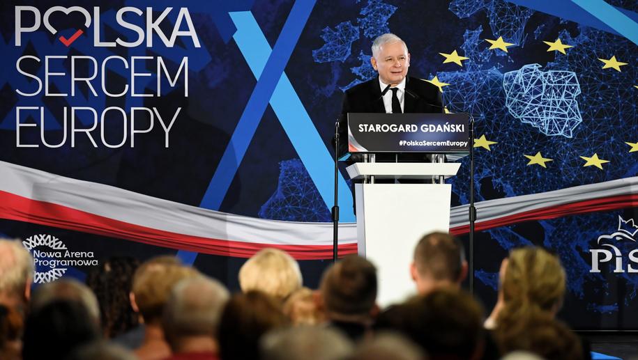 Konwencja wyborcza Prawa i Sprawiedliwości w Starogardzie Gdańskim / Adam Warżawa    /PAP
