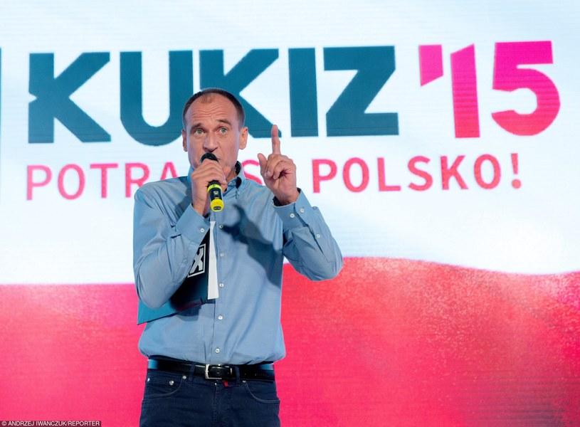 Konwencja wyborcza ruchu Kukiz'15 /Andrzej Iwańczuk/Reporter /PAP