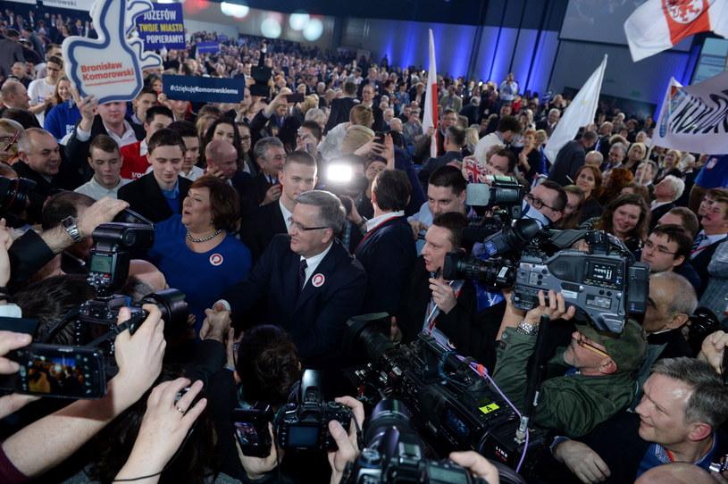 Konwencja wyborcza w Warszawie /PAP