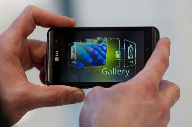 Konwerter gier 3D zostanie dodany do najnowszej wersji smartfona LG Swift 3D /AFP