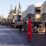 Konwój ONZ z pomocą humanitarną dla Aleppo zbombardowany