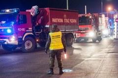 Konwój z pomocą humanitarną dla Ukrainy już na granicy
