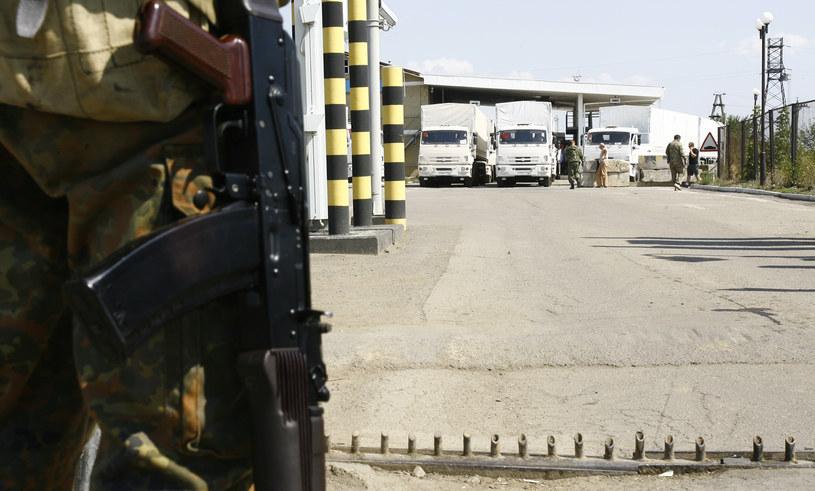 Konwój z pomocą przekroczył granice z Ukrainą /AFP