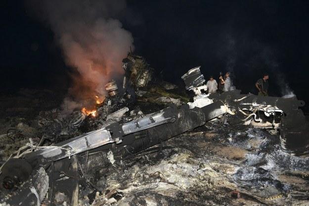 Konwój ze szczątkami boeinga wjedzie do Polski /AFP