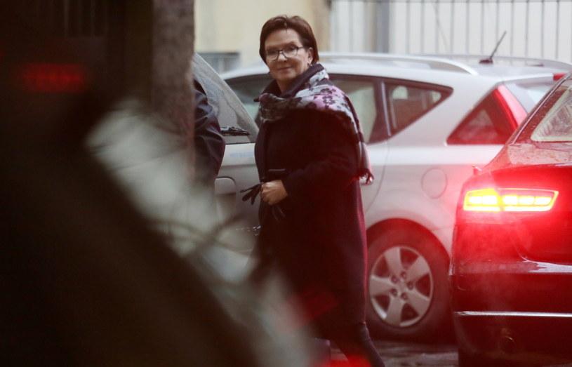 Kopacz w drodze na posiedzenie zarządu Platformy Obywatelskiej /Leszek Szymański /PAP