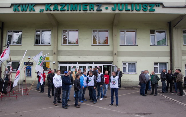 Kopalnia Kazimierz-Juliusz /Andrzej Grygiel /PAP
