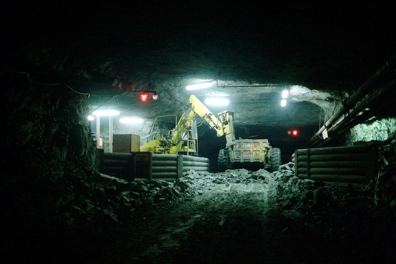 Kopalnia Rudna w Polkowicach /Lukasz Krol /Agencja FORUM