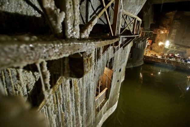 Kopalnia Soli w Wieliczce - czy nowa technologia mogłaby być wykorzystana także tutaj? /AFP