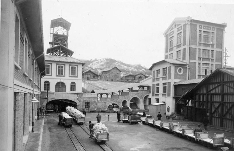 Kopalnia w Slănicu w 1940 roku /Fox Photos /Getty Images