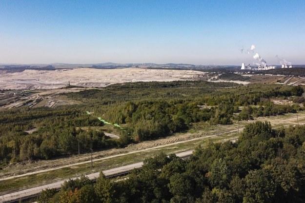 Kopalnia Węgla Brunatnego Turów w Bogatyni /Aleksander Koźmiński /PAP