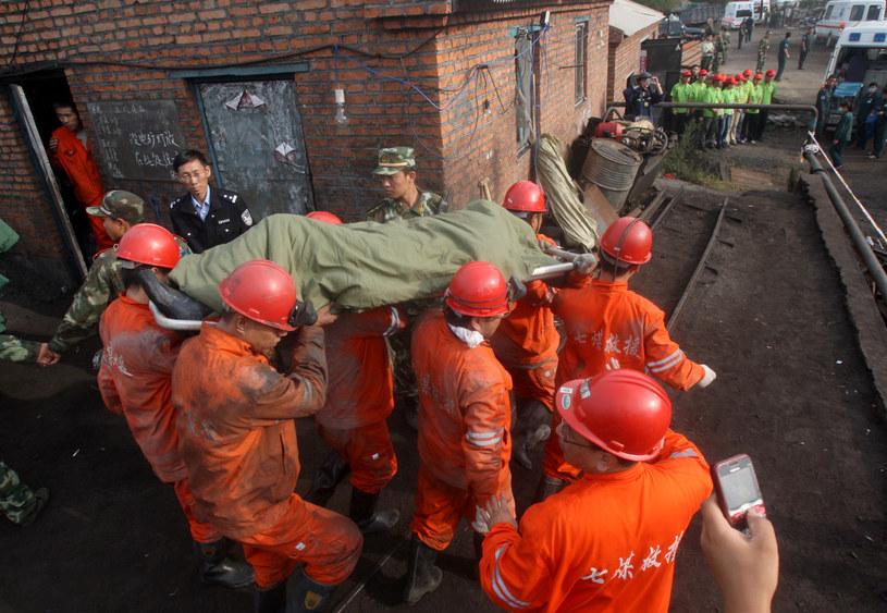 Kopalnie w Chinach są najniebezpieczniejsze na świecie /STR /AFP