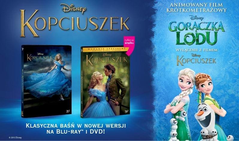 """""""Kopciuszekowi"""" na płytach DVD i Blu-ray towarzyszyć będzie krótkometrażowa animacja """"Gorączka lodu"""" /materiały dystrybutora"""