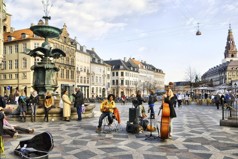 Kopenhaga: Fontanna Bocianów /123RF/PICSEL