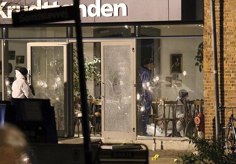 Kopenhaska kawiarnia, w której doszło od zamachu /AFP