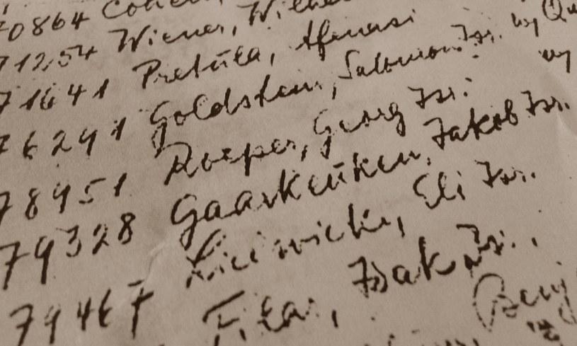 Kopia dokumentów znalezionych w puszce (z Archiwum Muzeum Auschwitz-Birkenau) /Ewelina Karpińska-Morek /INTERIA.PL
