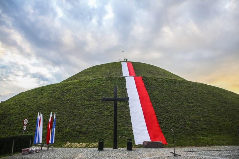 Kopiec Józefa Piłsudskiego w Krakowie /Beata Zawrzel /Reporter