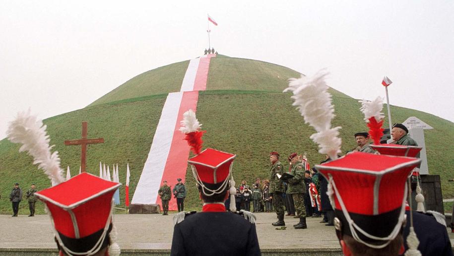 Kopiec Piłsudskiego /Jacek Bednarczyk   /PAP
