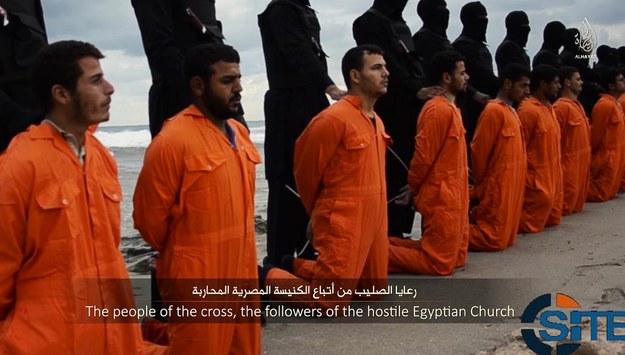 Koptowie zostali zamordowani na plaży w Trypolisie /Twitter /