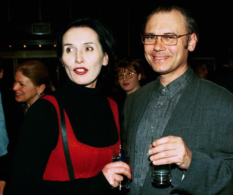 Kora i Kamil Sipowicz pod koniec lat 90. /Krzysztof Wojda /Reporter