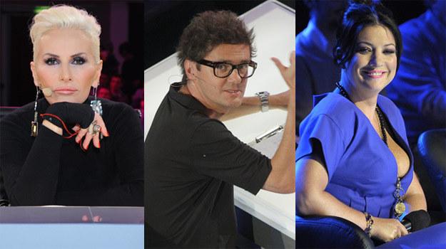 """Kora (""""Must be the Music""""), Kuba Wojewódzki (""""X Factor'),  Alicja Węgorzewska ('Bitwa na głosy"""") /AKPA"""