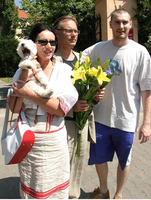 Kora z Kamilem i synem Szymonem, fot.Kacper Pempel