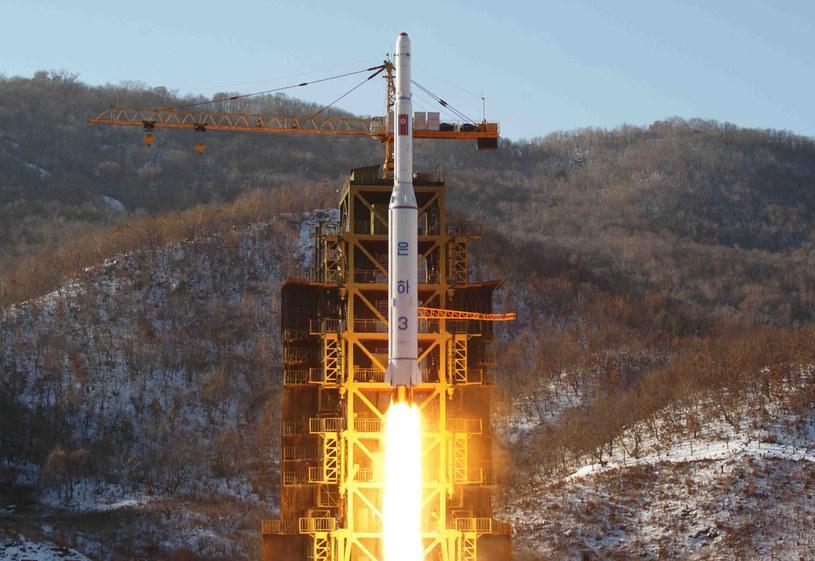 Korea Płn. przygotowuje się do próby z rakietami dalekiego zasięgu? /AFP