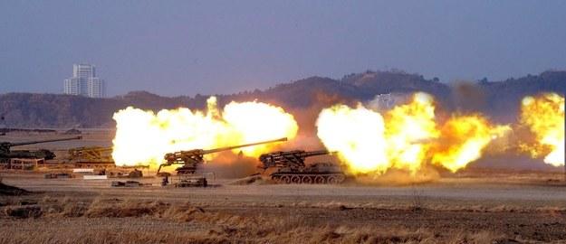 Korea Płn. rozpoczęła ćwiczenia z wykorzystaniem ostrej amunicji