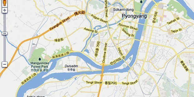 Korea Północna trafiła do Google Maps. Ale mieszkańcy tego kraju nie mają jej jak zobaczyć fot. Google Maps /Internet