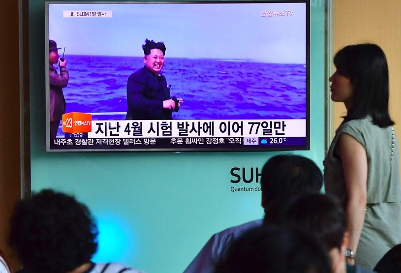 Korea Północna wystrzeliła we wtorek rano czasu lokalnego trzy pociski balistyczne /JUNG YEON-JE /AFP