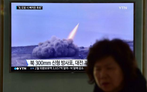 Korea Północna zareagowała na coroczne ćwiczenia wojskowe Stanów Zjednoczonych i Korei Południowej /AFP