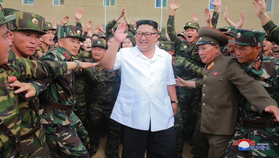 Korea Północna /KCNA /PAP/EPA