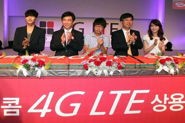 Korea Południowa już ma 4G LTE, ale Chiny na standard TD-LTE jeszcze poczekają /AFP