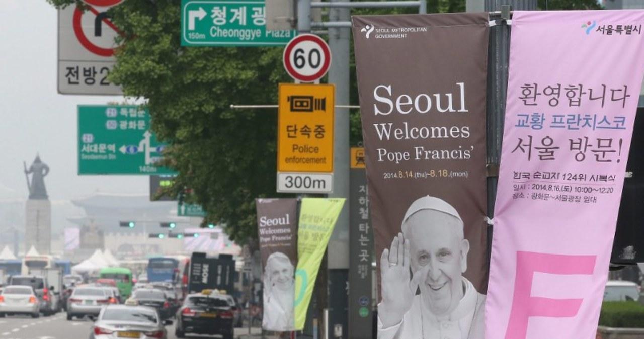 Korea Południowa przygotowywuje się na wizytę papieża