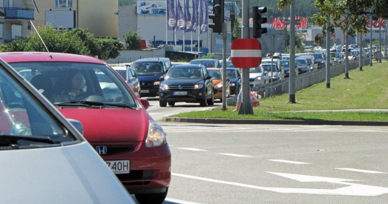 Korek na A1 przed Gdańskiem