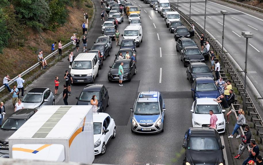 Korek na A100 pod Berlinem /FILIP SINGER /PAP/EPA