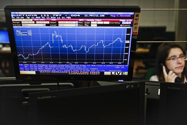 Korekta na rynku złotego rozpoczęta! /AFP