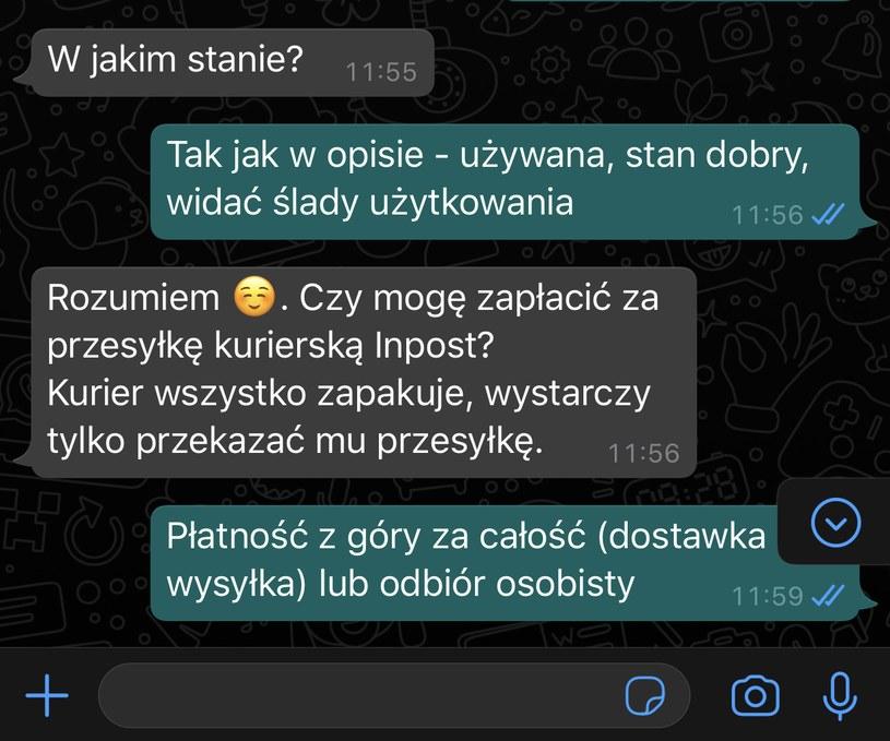 Korespondencja z internetowymi oszustami /Interia.pl /INTERIA.PL