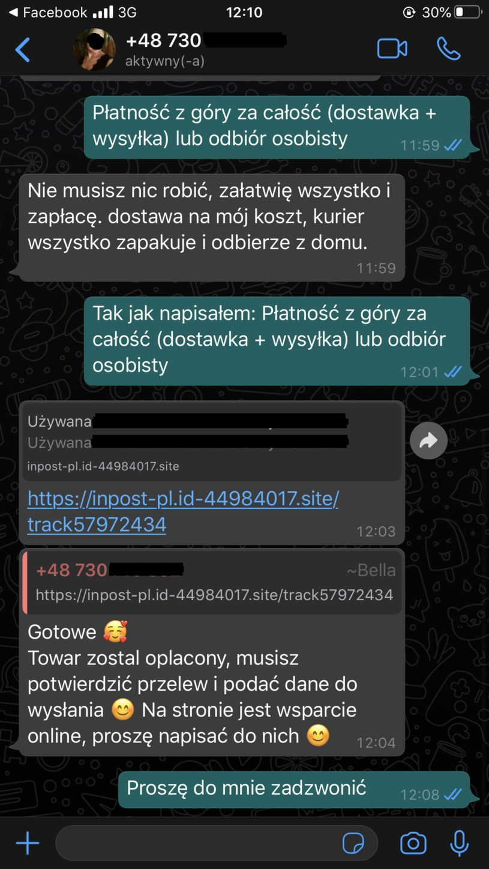 Korespondencja z oszustami /Interia.pl /INTERIA.PL