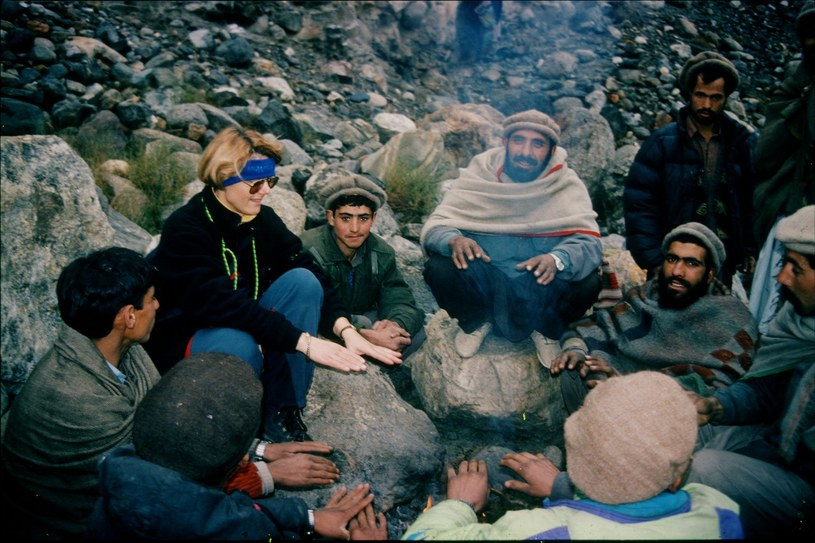 Korespondentka. MR na wyprawie  Nanga Parbat 1997-98 w Pakistanie /materiały prasowe