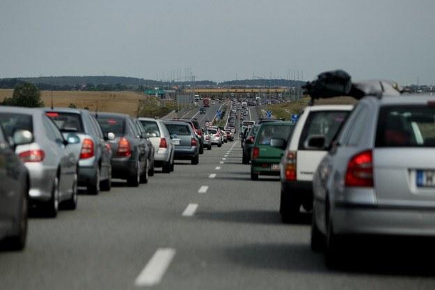 Korki na autostradach to coś normalnego. Niestety. /Stanisław Kowalczuk /East News