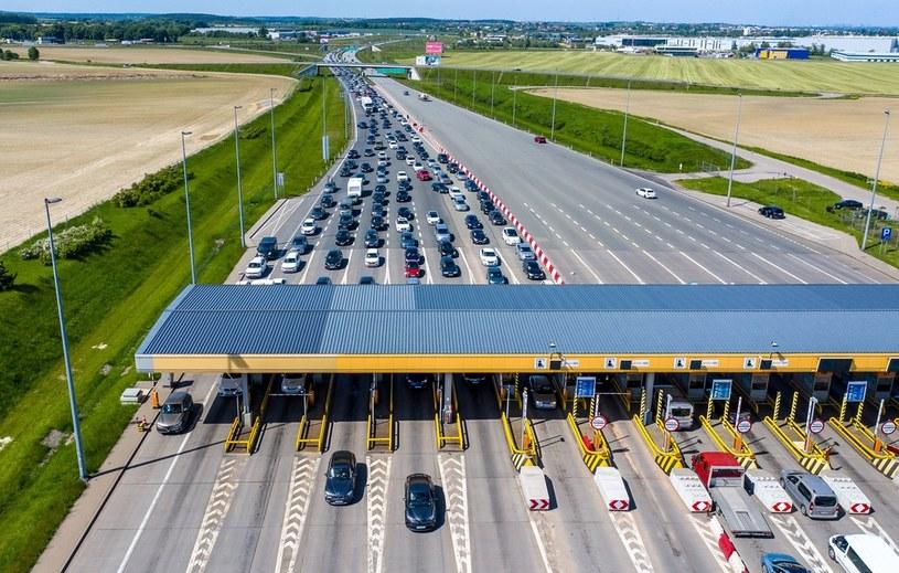 Korki na autostradzie A1 /Przemek Swiderski/REPORTER /East News