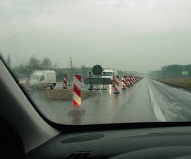 Korki na autostradzie...