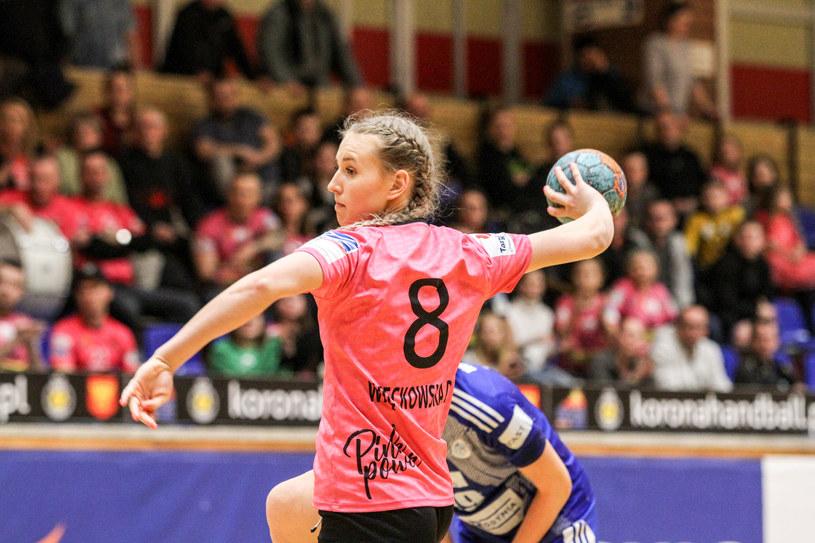 Korona Handball Kielce na razie nie zagra w ekstraklasie. Na zdjęciu Magdalena Więckowska /Paweł Janczyk /Newspix