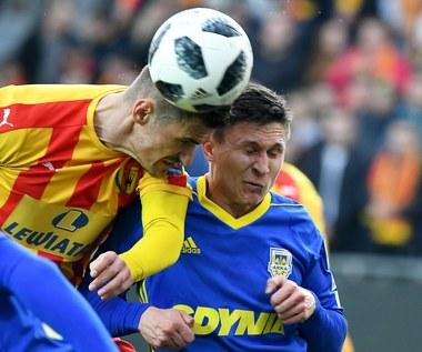 Korona Kielce - Arka Gdynia 2-1 w półfinale Pucharu Polski