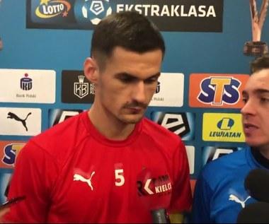 Korona Kielce - Górnik Zabrze. Adnan Kovaczević przed meczem. Wideo