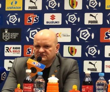 Korona Kielce. Maciej Bartoszek po meczy z ŁKS-em: Dla mnie liczy się efekt końcowy. Wideo