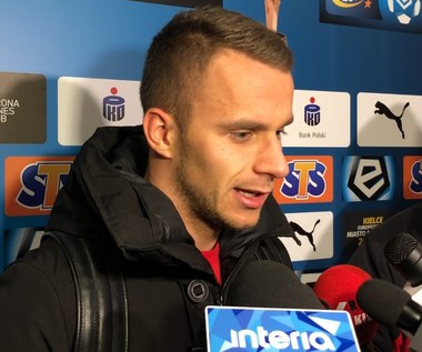 Korona Kielce - Wisła Płock 2-2. Marcin Cebula po meczu. Wideo