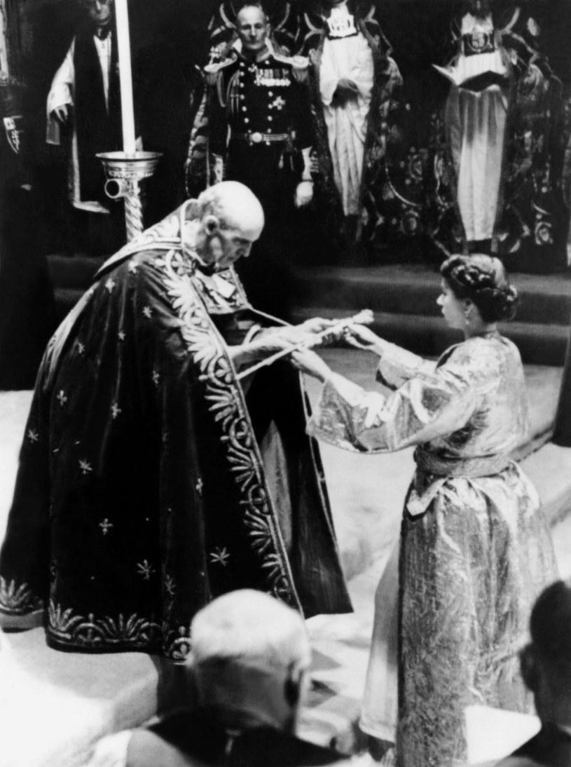 Koronacja Elżbiety II, 2 czerwca 1953 roku /INTERCONTINENTALE / AFP  /AFP