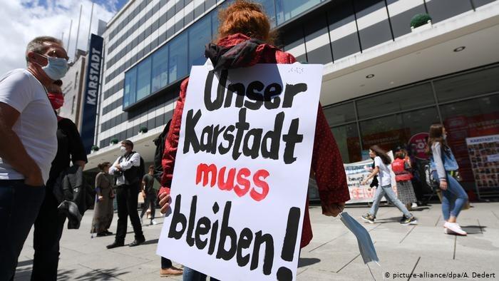Koronakryzys grozi upadkiem wielu centrów handlowych w Niemczech /Deutsche Welle