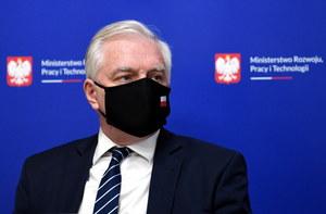 Koronawirus. Jarosław Gowin przebywa w szpitalu
